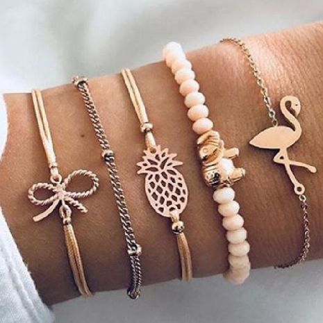 Womens electroplated alloy Bracelets & Bangles NHGY125525's discount tags