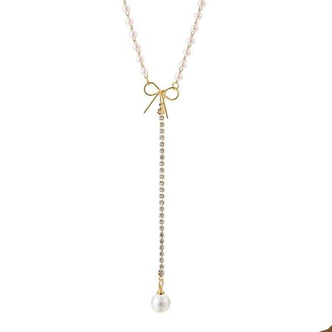 Womens beads plating alloy Necklaces NHGY125550's discount tags