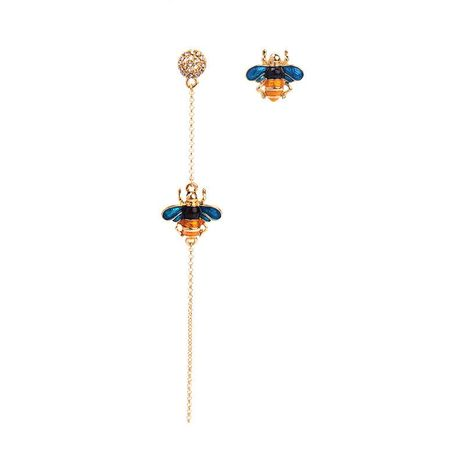 Womens insect drop oil alloy Earrings NHQD125551's discount tags