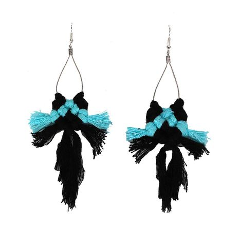 Womens Line Fringe Line Alloy Earrings NHJQ125575's discount tags