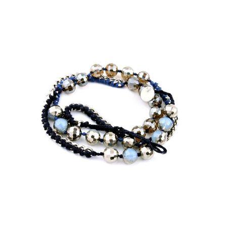 Womens rhinestone-studded alloy Bracelets & Bangles NHQD125577's discount tags