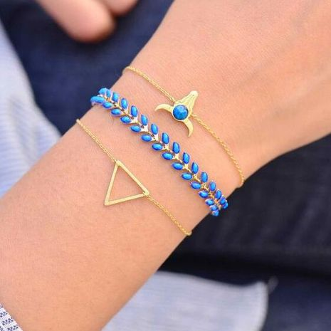 Womens Heart Plating Alloy Bracelets & Bangles NHGY125578's discount tags