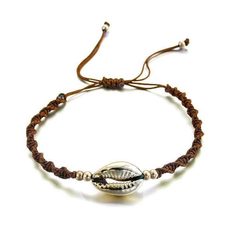 Womens Shell Plating Alloy Bracelets & Bangles NHGY125615