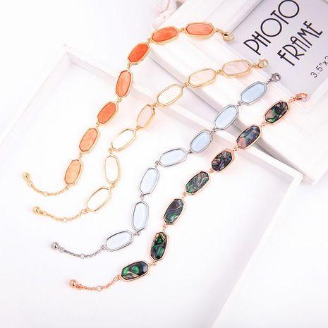 Womens geometric rhinestone alloy Bracelets & Bangles NHQD125616's discount tags
