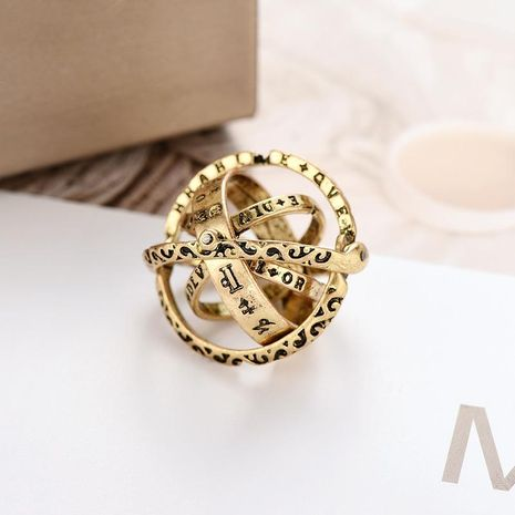 Unisex Constellation Plating Alloy Rings NHXS125626's discount tags