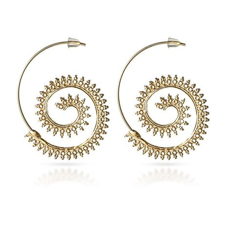 Unisex Geometric Plating Alloy Earrings NHGY125641's discount tags