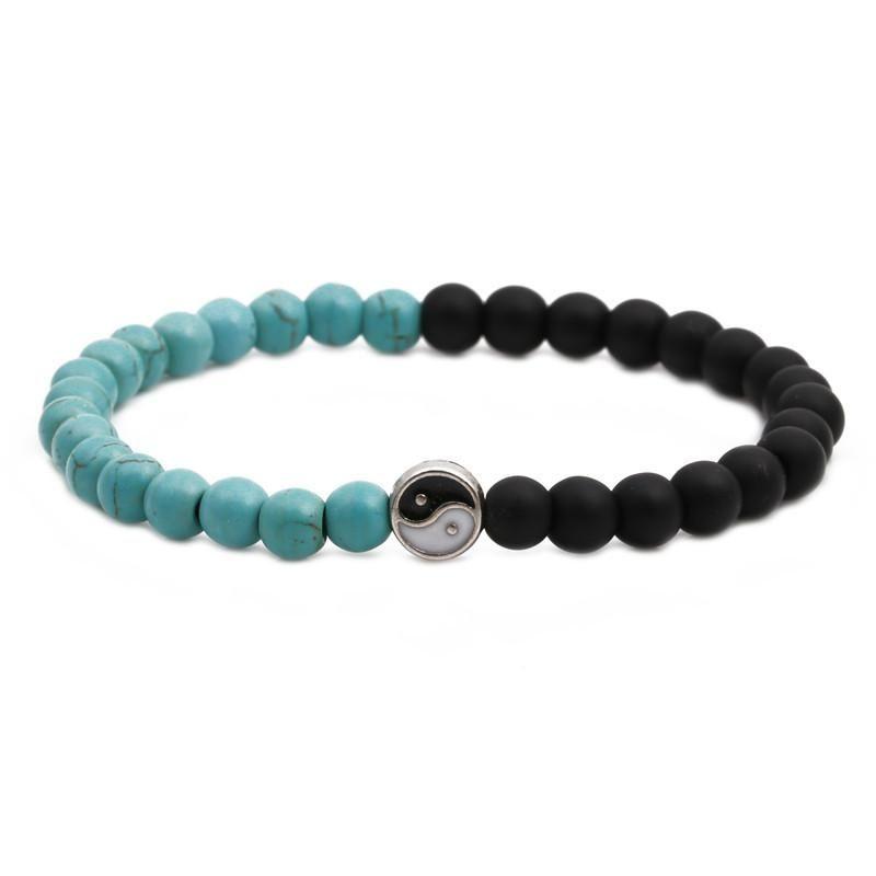 Fashion Natural stone beaded set bracelet NHYL126044