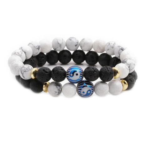 Bracelets et bracelets unisexes en pierre naturelle de cuivre NHYL126058's discount tags