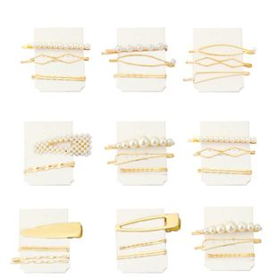 Womens geometric plating beads alloy Hair Accessories NHHN126061's discount tags