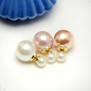 Fashion size beads beads Earrings NHOK126065's discount tags