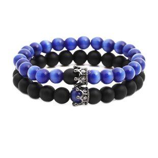 Unisex Opal crown Copper Bracelets & Bangles NHYL126066's discount tags