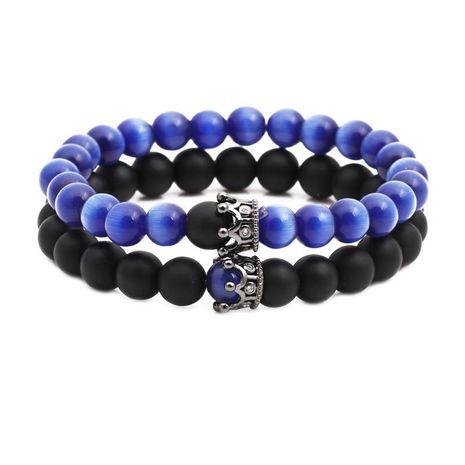 Unisexe Opal couronne Bracelets et bracelets en cuivre NHYL126066's discount tags