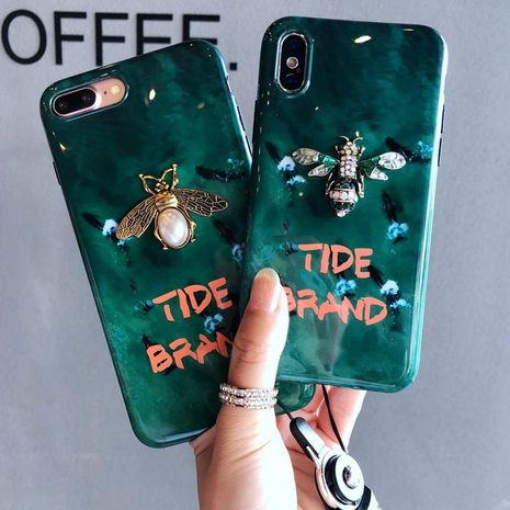Emerald net red with the same Xsmax phone case NHJP126246 For iphoneXs's discount tags