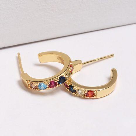 Womens Rhinestone Alloy Earrings NHJJ130297's discount tags
