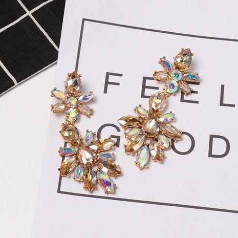 Womens Geometric Rhinestone Alloy Earrings NHJJ130299's discount tags
