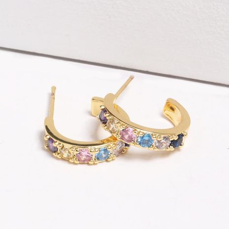 Womens Rhinestone Alloy Earrings NHJJ130333's discount tags