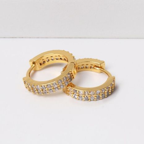Womens Rhinestone Alloy Earrings NHJJ130337's discount tags