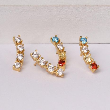 Womens Rhinestone Alloy Earrings NHJJ130355's discount tags