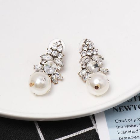 Womens teardrop-shaped beads mixed material Earrings NHJJ130365's discount tags