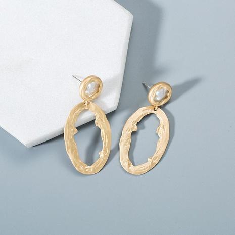 Fashion 925 Alloy Needle Geometric Circle Earrings NHWF130380's discount tags