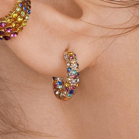 Womens Rhinestone Alloy Earrings NHJJ130410's discount tags