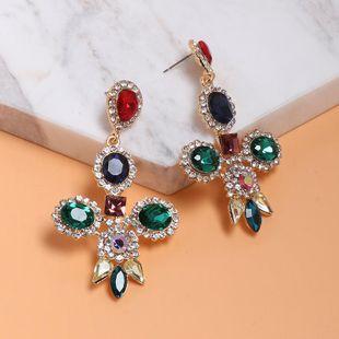 Creative minimalist cross stud earrings NHJJ130416's discount tags