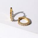 Womens Rhinestone Alloy Earrings NHJJ130402