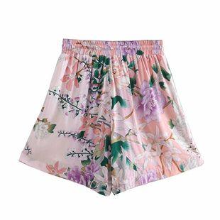Pantalones cortos de cintura elástica casual de Spring Beach NHAM132724's discount tags