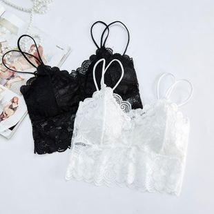 Encaje sexy calado tubo transpirable top ropa interior NHXW132780's discount tags