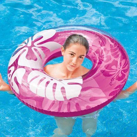 Coquille eau fleur d'hibiscus flotteur adulte grand anneau de natation NHWW132811's discount tags