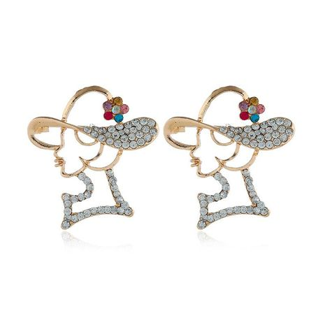 Womens geometric plating alloy Brooches NHKQ133013's discount tags
