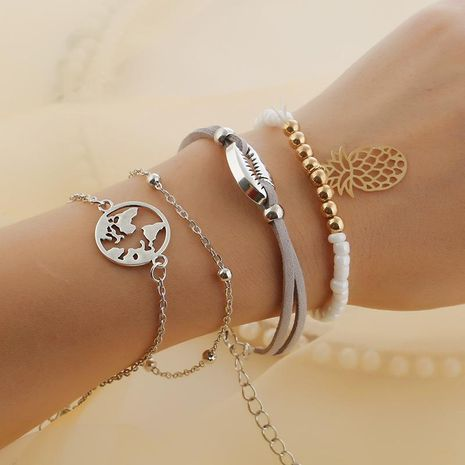 Summer Wind Beach Fruit Bracelet NHKQ133031's discount tags