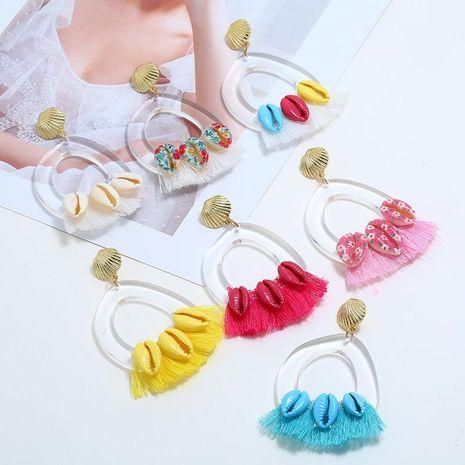 Vintage Geometric Scrubs Joker Earrings NHKQ133097's discount tags