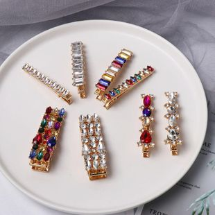 Womens Studded Alloy Hair Accessories NHJJ133121's discount tags