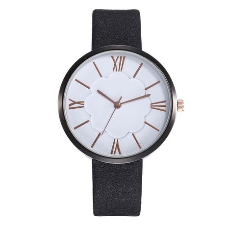 Fashion casual creative flower Roman scale quartz watch NHHK133169's discount tags