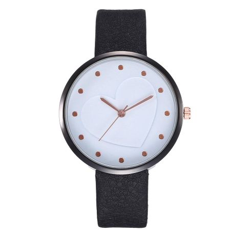 Creative fashion casual heart rivet scale student quartz watch NHHK133165's discount tags