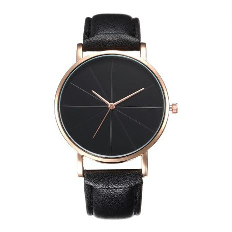 Fashion simple scale quartz belt watch NHHK133188's discount tags