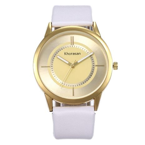 Simple personality quartz belt watch NHHK133222's discount tags
