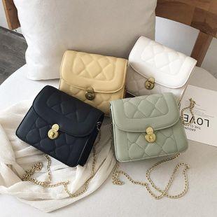 Fashion rhombic chain versatile shoulder slung cloud bag NHXC133391's discount tags