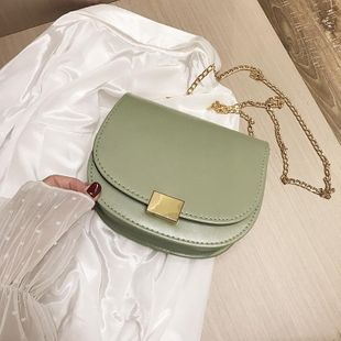 Fashion Contrast Broadband Shoulder Crossbody Bag NHXC133534's discount tags