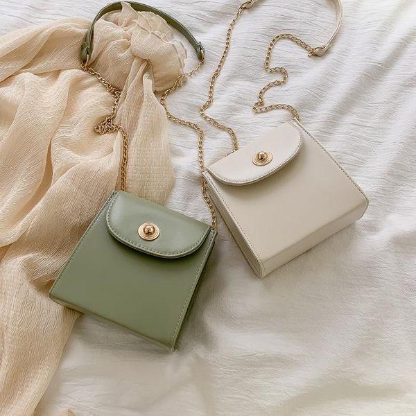 Sleek minimalist mini crossbody chain pouch NHXC133542