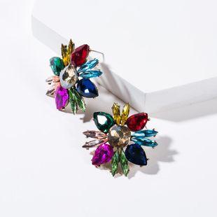 Fashion women rhinestone earrings NHJE133711's discount tags