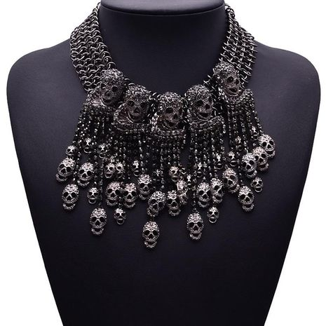Fashion women skull necklace NHJQ133724's discount tags