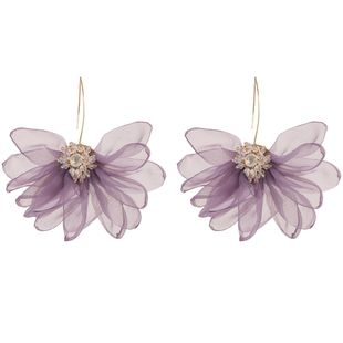 Fashion women rhinestone flower earrings NHJE133730's discount tags