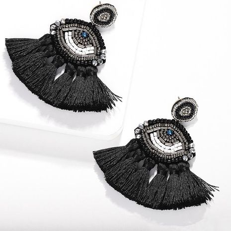 Fashion women hand-woven beads eye earrings NHJQ133753's discount tags