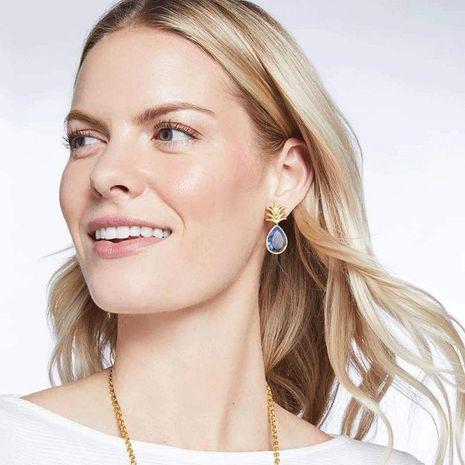 Fashion bohemian pineapple earrings NHOT134023's discount tags