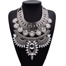 Fashion Women Imitated crystal Alloy Necklace NHJQ133796