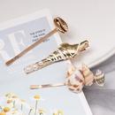 Korean Beads Shell Alloy Hair Accessories Set NHJJ134053