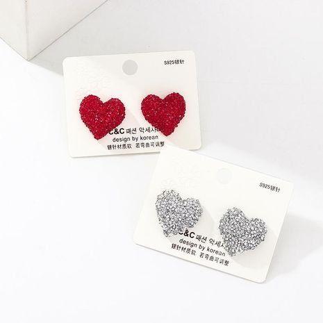 Fashion temperament love alloy earrings NHNZ134430's discount tags