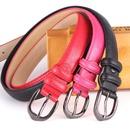 Fashion woman faux leather metal buckle belt strap for jeans dress multicolor NHPO134209